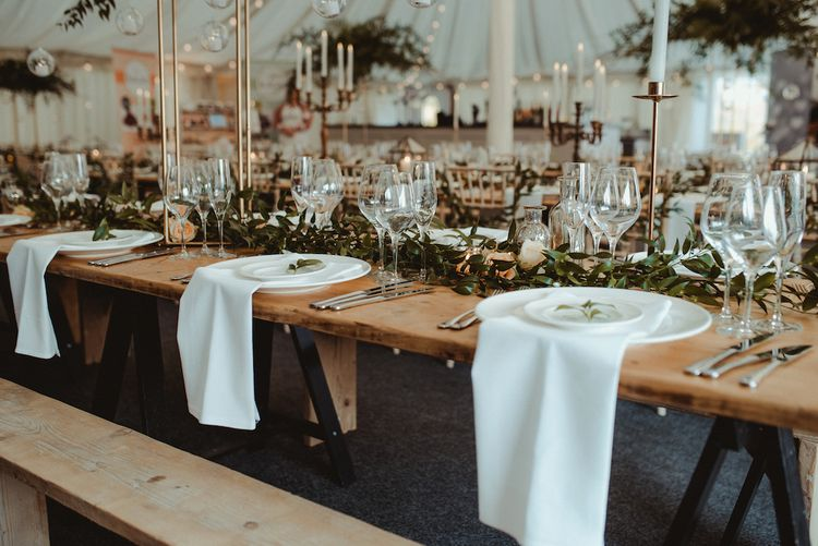 Long Table Reception at Middleton Lodge