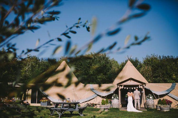 Tent Wedding at Oaklands