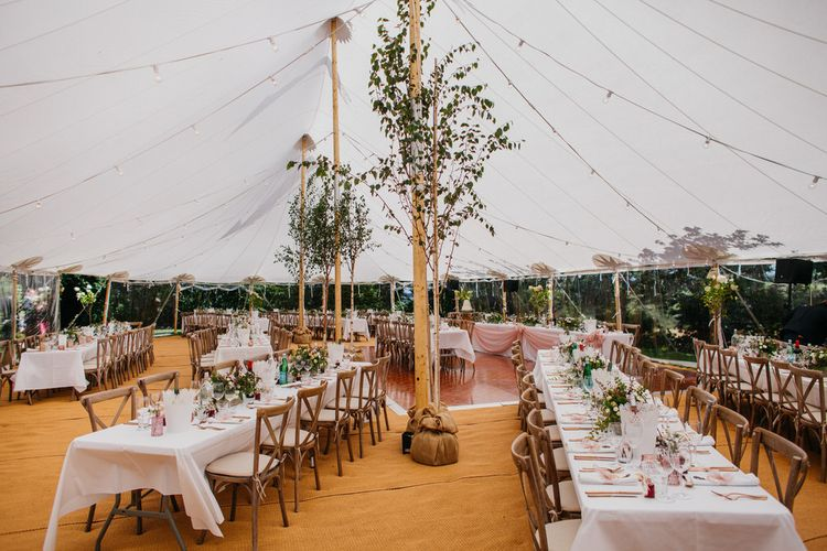 Wedding Tent by Pitched