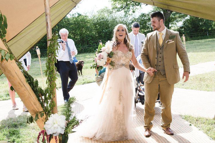 Wedding Teepee by Stunning Tents