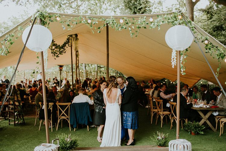 Stretch Tent Wedding at The Copse Image by Irene Yap