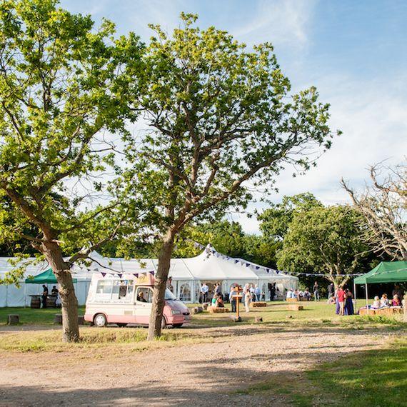 Wedding Festival With Ice Cream Van at Tournerbury Image by Hayling Island Photography