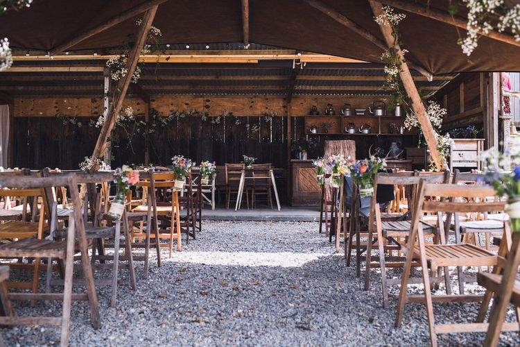 Tent Wedding at Fforest