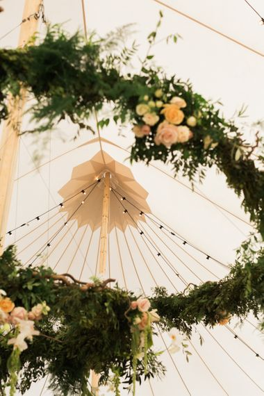 PapaKata Spring Tent Festoon Lights Image by Lucy Davenport Photography