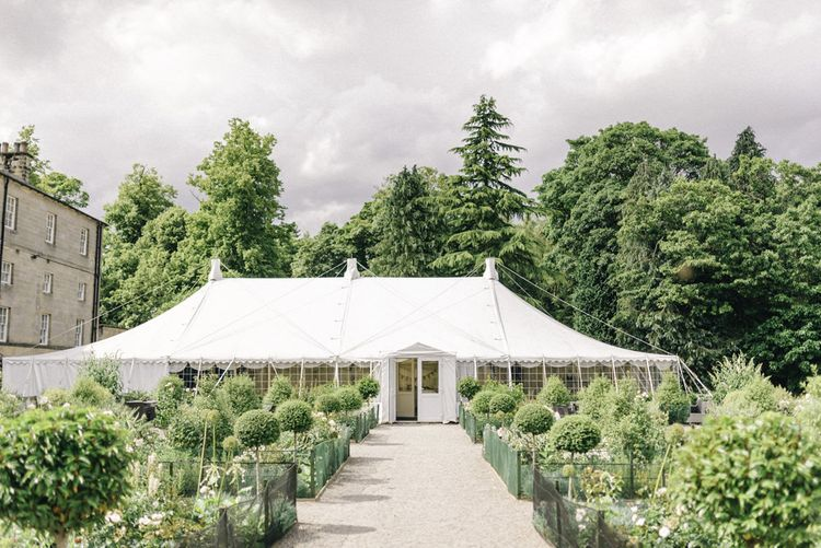 Country Marquee at Middleton Lodge Image by Sarah Ethan Photography