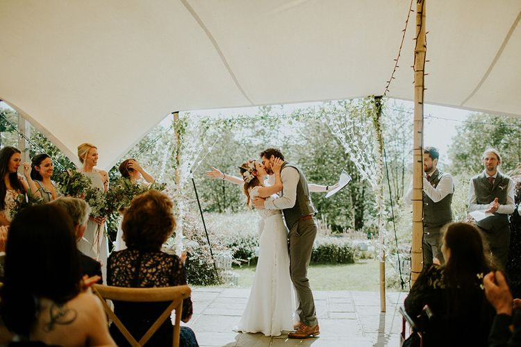Wedding Ceremony at The Copse Image by Irene Yap Photography