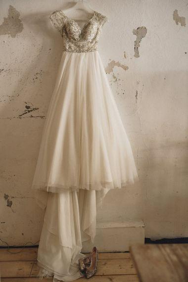 Customised Morilee wedding dress