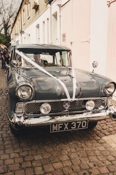 1958 Vauxhall Victor Super vintage wedding car