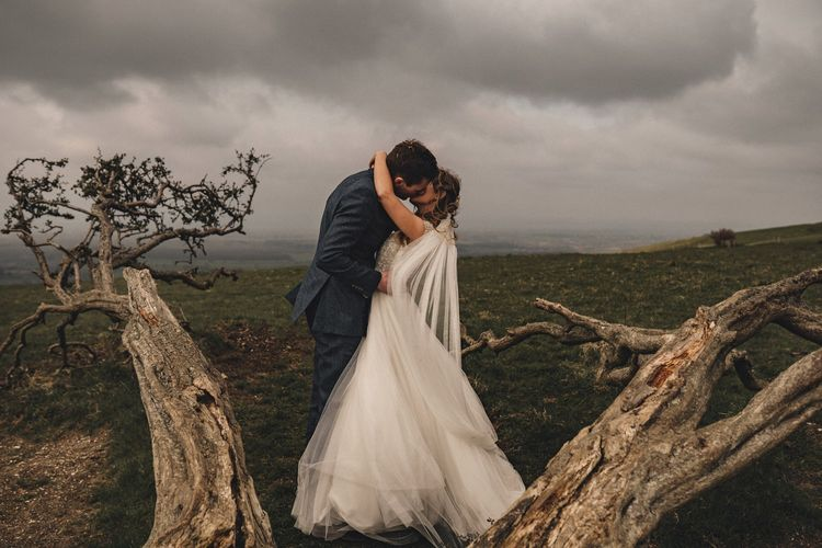 wedding photography by The Chamberlins for former 2014 Great British Bake Off contestant Martha Collinson and her husband