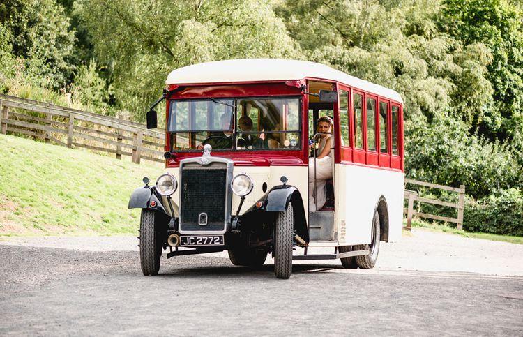 Vintage Wedding Bus   Vintage Fairground at Blists Hill Victorian Town Museum in Ironbridge   Lisa Carpenter Photographer