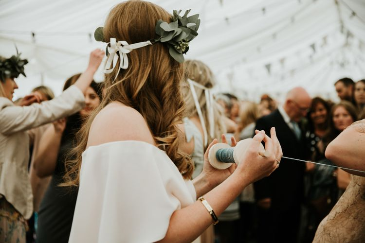 Eco Friendly Budget Wedding At Slade Farm In Wales With Images From Francesca Hill Photographer