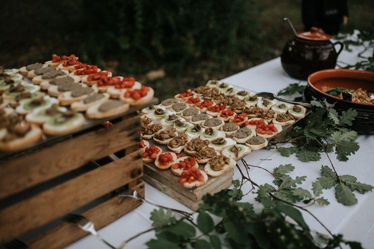 Capapes   Outdoor Bohemian Destination Wedding at La Selva, Tuscany   Damien Milan Photography
