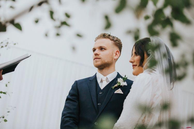 Civil wedding ceremony at Hornington Manor