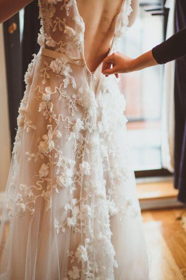 玛莎·马萨的婚纱礼服