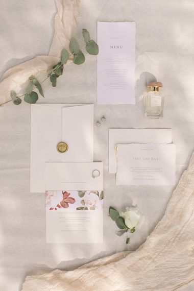 Tanya at Bureau Design Wedding Stationery Suite | Contemporary Elegance Wedding in the Countryside  | M & J Photography | Film by Jacob and Pauline