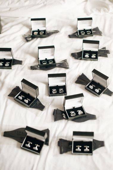 Cufflinks | Contemporary Elegance Wedding in the Countryside  | M & J Photography | Film by Jacob and Pauline