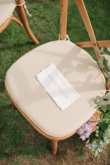 Tanya at Bureau Design Wedding Stationery | Contemporary Elegance Wedding in the Countryside  | M & J Photography | Film by Jacob and Pauline