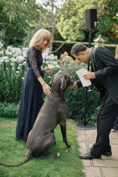 Great Dane | Contemporary Elegance Wedding in the Countryside  | M & J Photography | Film by Jacob and Pauline