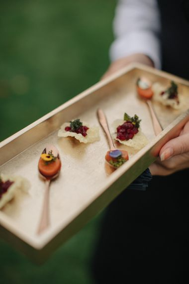 Rhubarb Wedding Catering | Contemporary Elegance Wedding in the Countryside  | M & J Photography | Film by Jacob and Pauline