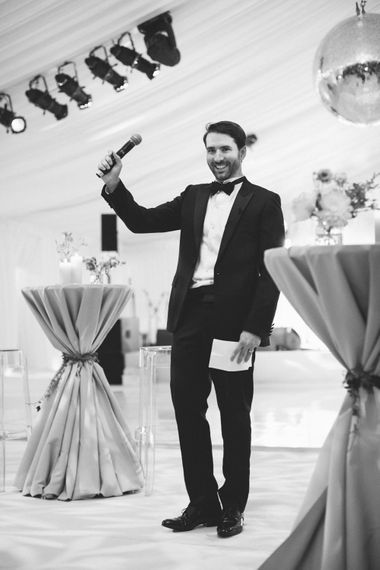 Wedding Reception Grooms Speech | Contemporary Elegance Wedding in the Countryside  | M & J Photography | Film by Jacob and Pauline