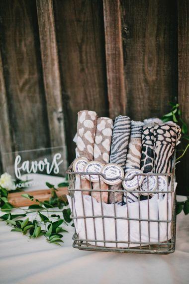 Wrap, Wedding Favours