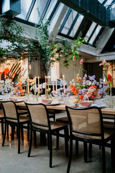 Spring flowers for wedding at Wild by Tart