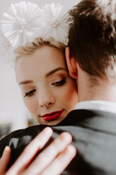 modern wedding ideas and bridal makeup