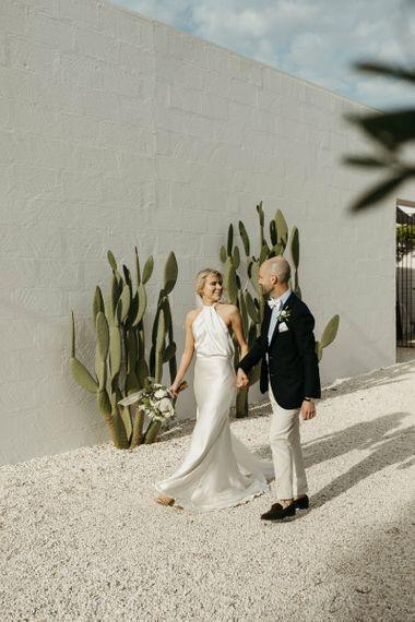 Halfpenny London Halterneck wedding dress