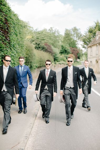 Top Hat And Tails For Groomsmen By Moss Bros. // Image By M&J Photography