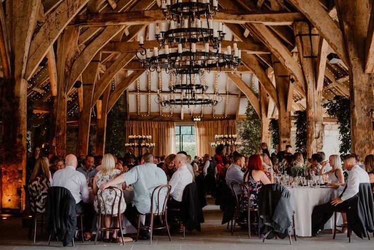 Wedding reception at Tithe Barn Bolton Abbey
