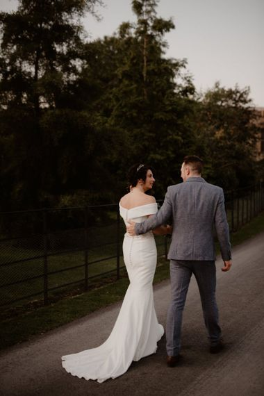 Wedding portrait by Taylor-Hughes Photography