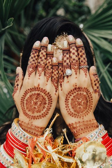 Sparkly Nails and Bridal Henna