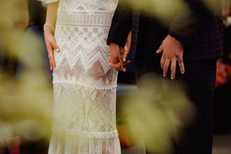 Grace Loves Lace Bridal Gown Detail