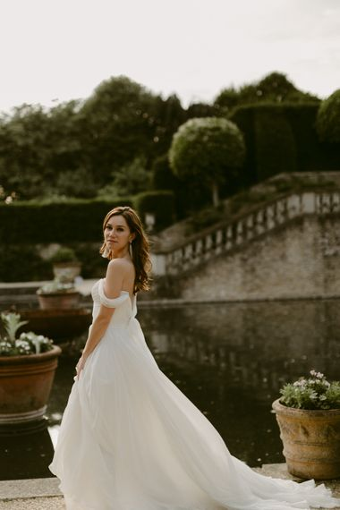 The Enchanted April Bridal Collection For 2019 From Naomi Neoh The Lost Orangery From Unique Home Stays Images Adam And Grace Photographers And Sophia Veres