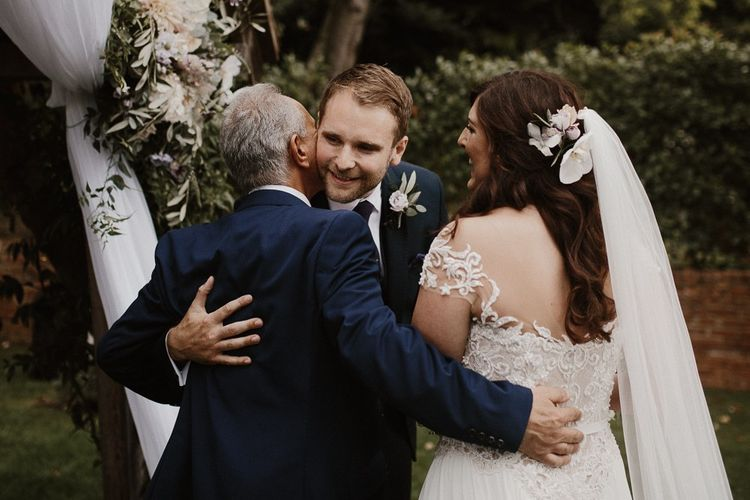 Father of the Bride Giving Daughter Away