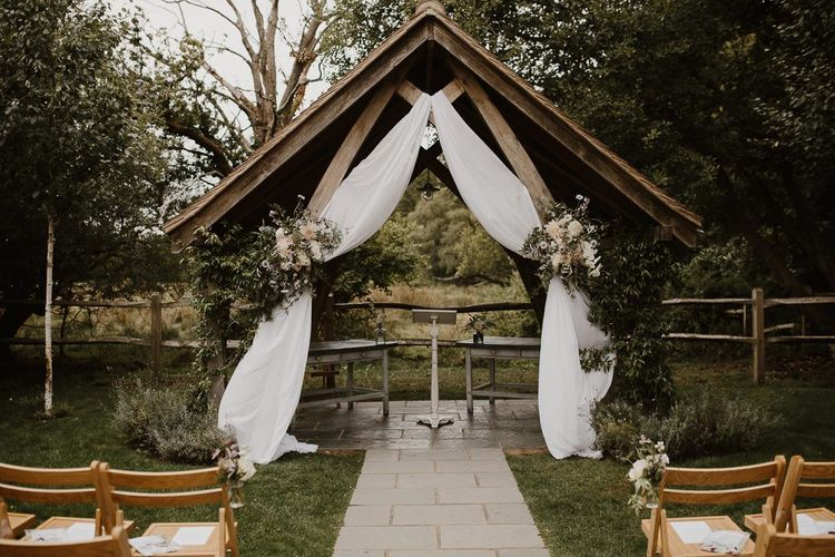 Altar Decor and Wedding Flowers for Outdoor Weddings