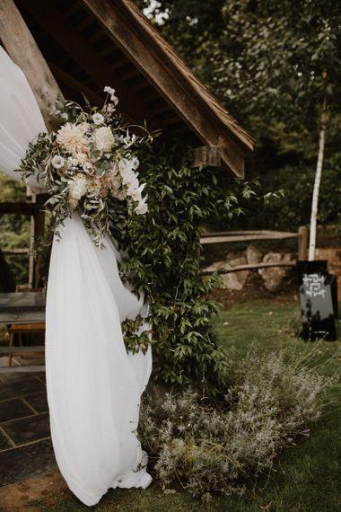 Altar Decor for Outdoor Wedding