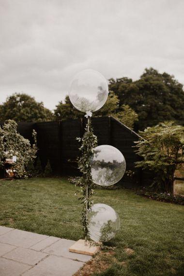 Wedding Balloon Decoration for Stylish Wedding