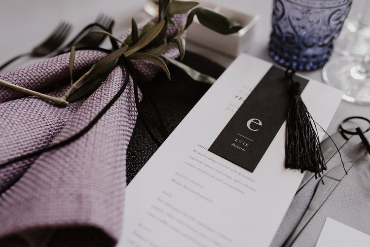 Table Setting with Nat's Paper Studio Stationery