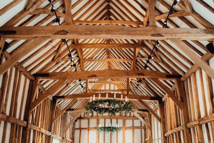 Rustic decoration at Micklefield Hall wedding