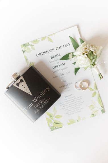 Order of The Day Wedding Stationery and Grooms Accessories