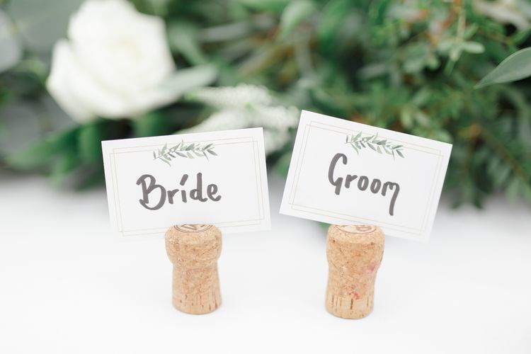 Cork Name Place Cards