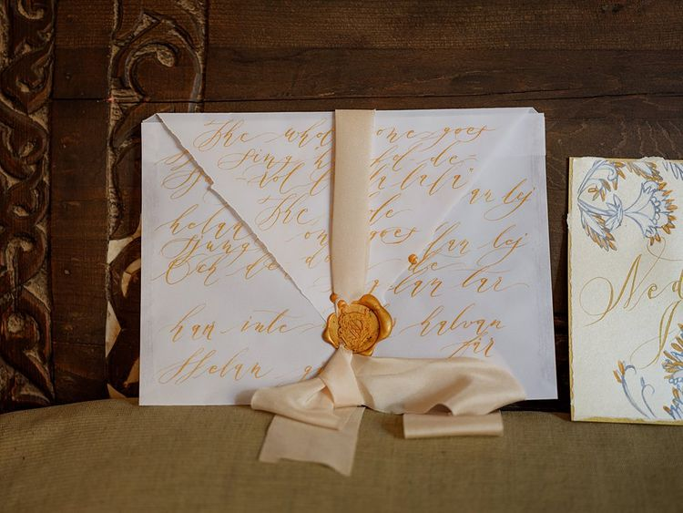 Wedding Stationery Invitation | Paradise Destination Wedding at Jnane Tamsna in Marrakech, Morocco | Nordica Photography | Matteo Castelluccia Film