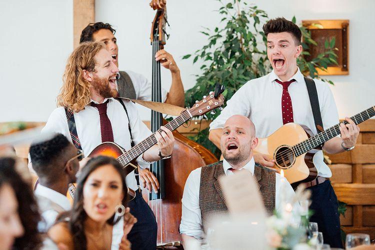 Wedding Entertainment |  | Rustic Greenery Wedding at Cripps Barn Cotswolds | Wedding_M Photography