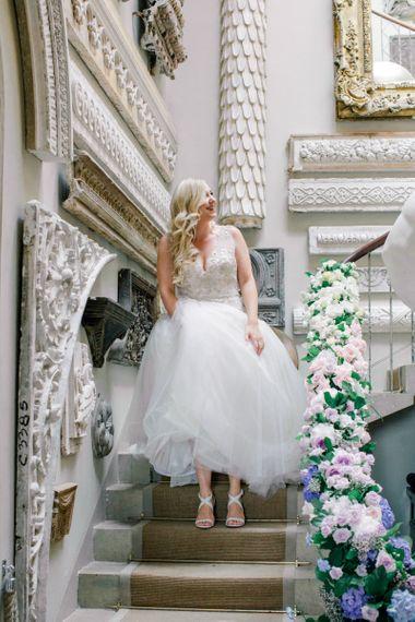 Bridal Entrance in Embellished Lace Maggie Sottero Wedding Dress