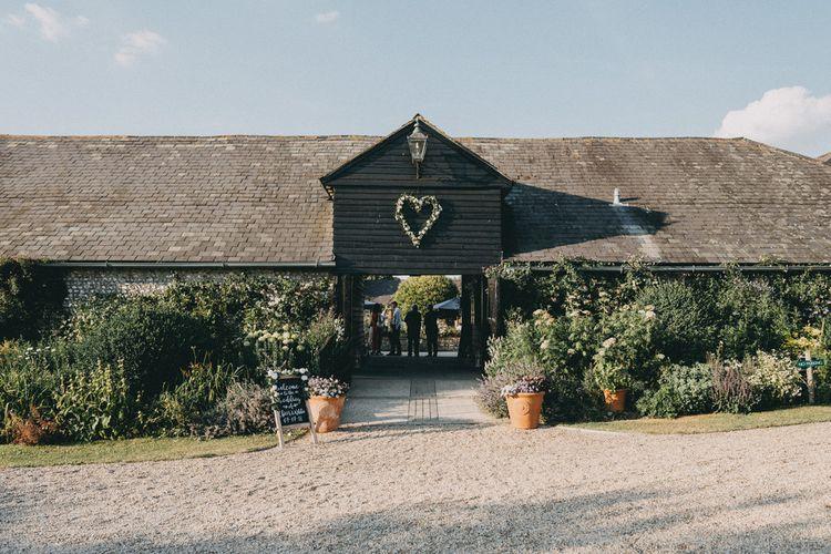 Upwaltham Barns wedding venue in Sussex