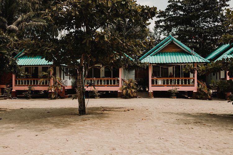 Tropical Destination on the Beach at Nice Sea Resort, Koh Phangan Thailand Planned by Phangan Weddings | Carla Blain Photography