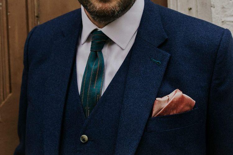 Handmade Tie For Groom