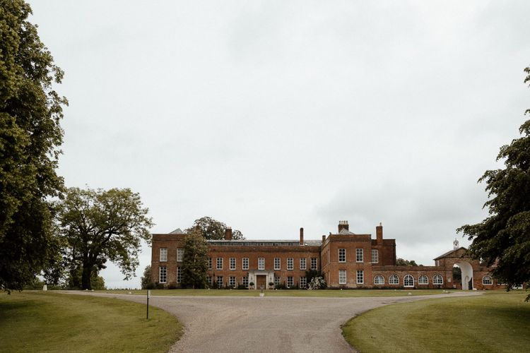 Braxted Park wedding venue in Essex for fusion wedding with Indian wedding dress