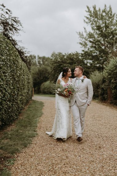 bride and groom portrait by Virginia Photography